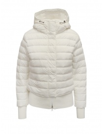 Parajumpers Oceanis 411 white down jacket with wool sides