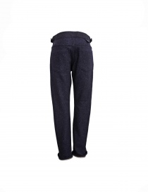 White Mountaineering navy trousers buy online