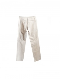 Label Under Construction light beige linen pants
