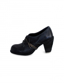 Black leather Guidi 3002 shoes price