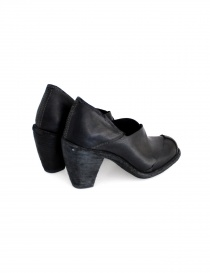 Black leather Guidi 2004 shoes buy online