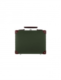 Travel bags online: Original 13'' Globe Trotter mini utility green suitcase