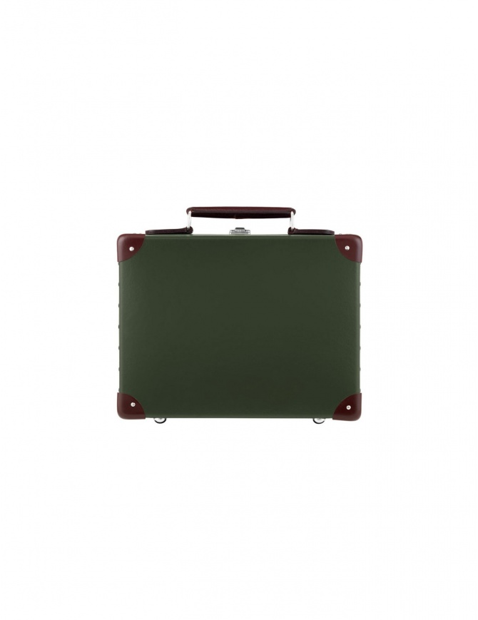Original 13'' Globe Trotter mini utility green suitcase ORIGINAL 13'' travel bags online shopping