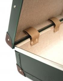 Valigia verde mini utility Globe Trotter serie Original 13'' prezzo