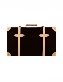 Travel bags online: Safari 26'' Globe Trotter coffee brown suitcase