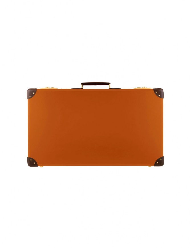 Original 26'' Globe Trotter orange suitcase ORIGINAL 26'' travel bags online shopping
