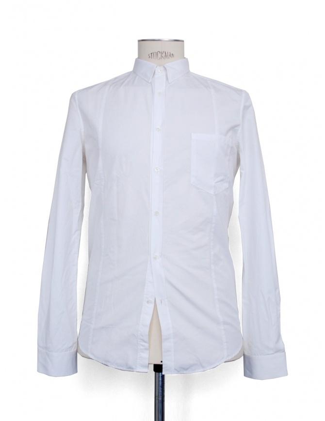 Golden Goose white long sleeve shirt G22U522.A8 mens shirts online shopping
