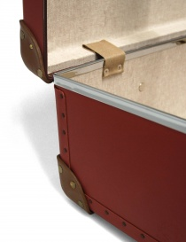 Centenary 26'' Globe Trotter red suitcase