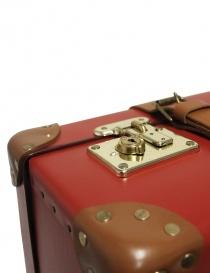Valigia rossa con ruote Globe Trotter serie Centenary 26'' valigeria acquista online