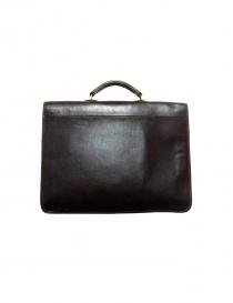 Il Bisonte Raffaello brown leather briefcase price