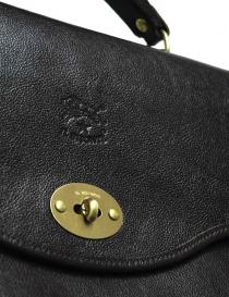 Cartella Il Bisonte Raffaello in pelle nera borse acquista online