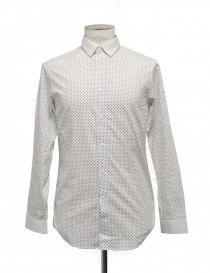 Camicia Cy Choi bianca con pois neri online