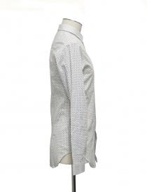 Camicia Cy Choi bianca con pois neri