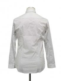 White shirt Cy Choi with blacks pois price