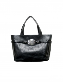 Black leather Il Bisonte bag - limited edition online
