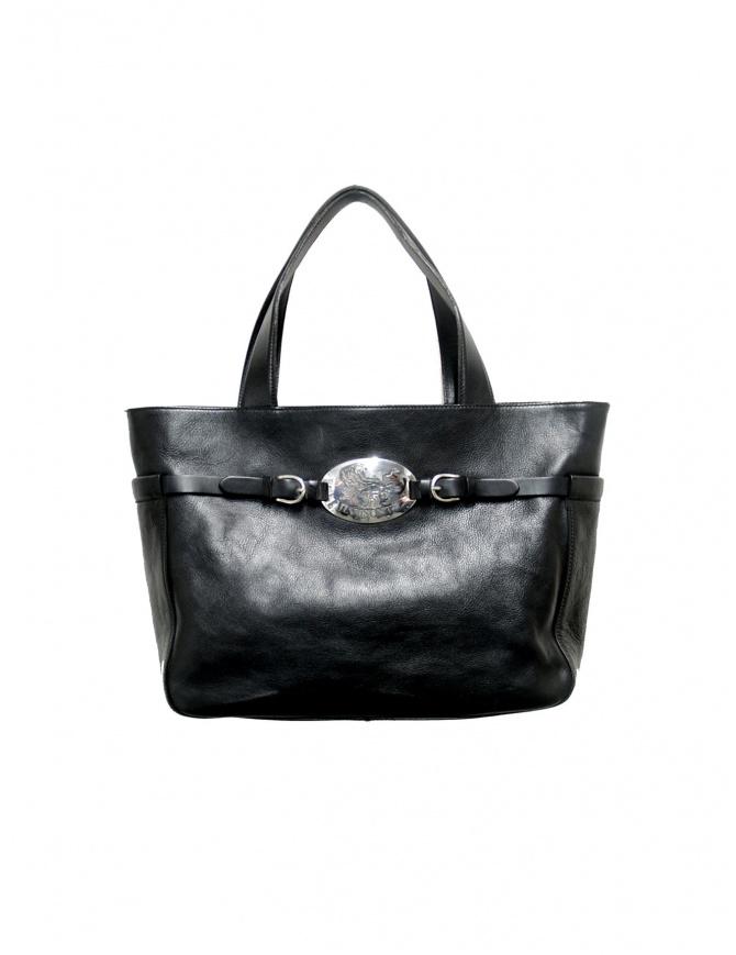 Borsa Il Bisonte in pelle nera - edizione limitata A1721/3 borse online shopping