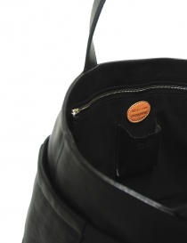 Black leather Il Bisonte bag - limited edition price