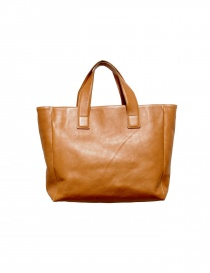 Ochre leather Il Bisonte bag price