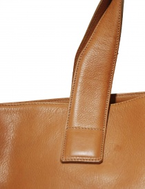 Ochre leather Il Bisonte bag bags buy online
