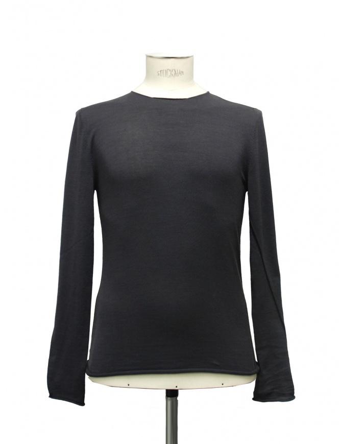 Label Under Construction Slant Seams T-shirt 21YMTS194-CO mens t shirts online shopping