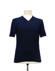 Adriano Ragni blue t-shirt 21ARTS02-CO1 order online