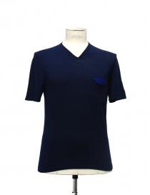 Adriano Ragni blue t-shirt online