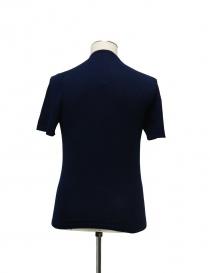 T-shirt Adriano Ragni colore blu prezzo