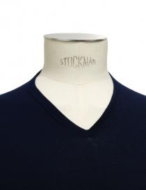 T-shirt Adriano Ragni colore blu t shirt uomo acquista online