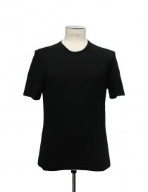 Adriano Ragni round neck black t-shirt online