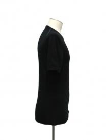 T-shirt Adriano Ragni colore nero scollo tondo acquista online