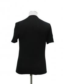 T-shirt Adriano Ragni colore nero scollo tondo prezzo