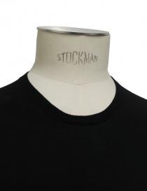 T-shirt Adriano Ragni colore nero t shirt uomo acquista online
