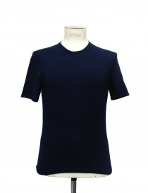 Adriano Ragni blue t-shirt 21ARTS01-CO1