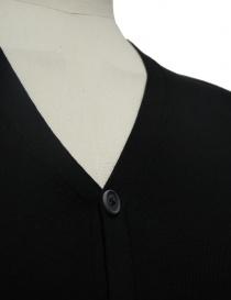 Cardigan Adriano Ragni colore nero cardigan uomo acquista online