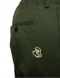 Pantalone Golden Goose colore verde pantaloni uomo acquista online