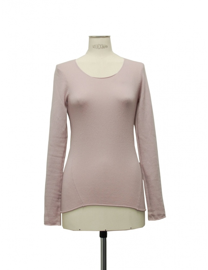 LUC twisted ls pink sweater 6YWTS02WS11R womens knitwear online shopping