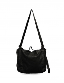 Black leather Guidi M10 bag buy online