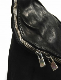 Black leather Guidi M10 bag price