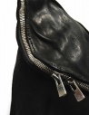 Black leather Guidi M10 bag M10 SOFT HORSE FULL GRAIN price