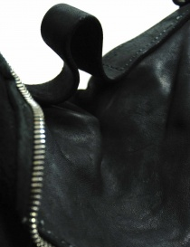 Black leather Guidi M10 bag bags buy online