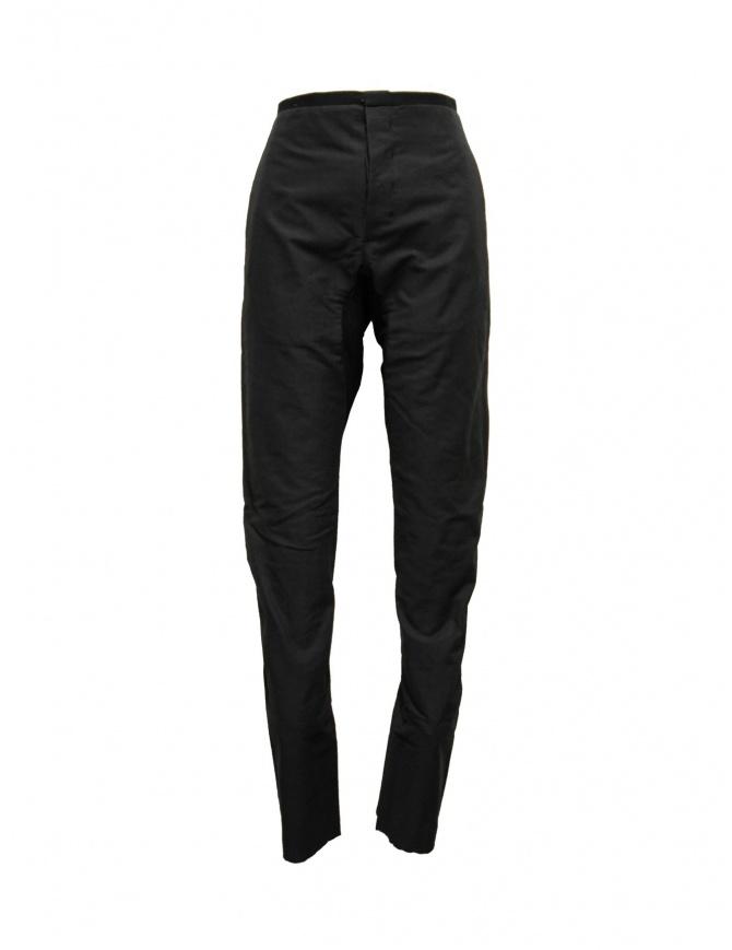 Pantalone Label Under Construction Gusset nero 21FMPN41 CO146 RG 21/99 pantaloni uomo online shopping