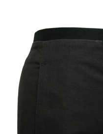 Pantalone Label Under Construction Gusset nero pantaloni uomo acquista online