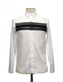 Camicia Cy Choi colore bianco con striscia nera CA35S04AWH00 order online