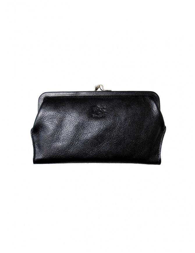 Portafoglio Il Bisonte in pelle nera C0671 P 153 NERO portafogli online shopping