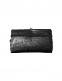 Black leather wallet Il Bisonte price