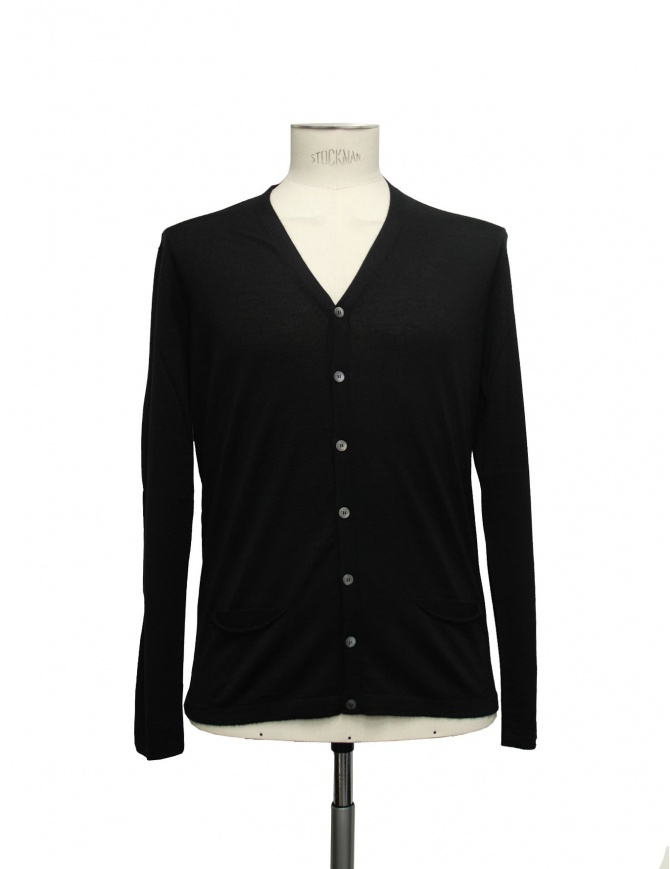 Cardigan Adriano Ragni colore nero 22ARCR02 WS23 PC-PK BK01 cardigan uomo online shopping