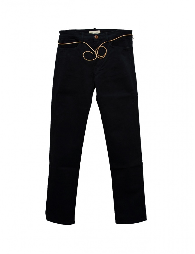 Pantalone Homecore colore navy ALEX-TWILL-N pantaloni uomo online shopping