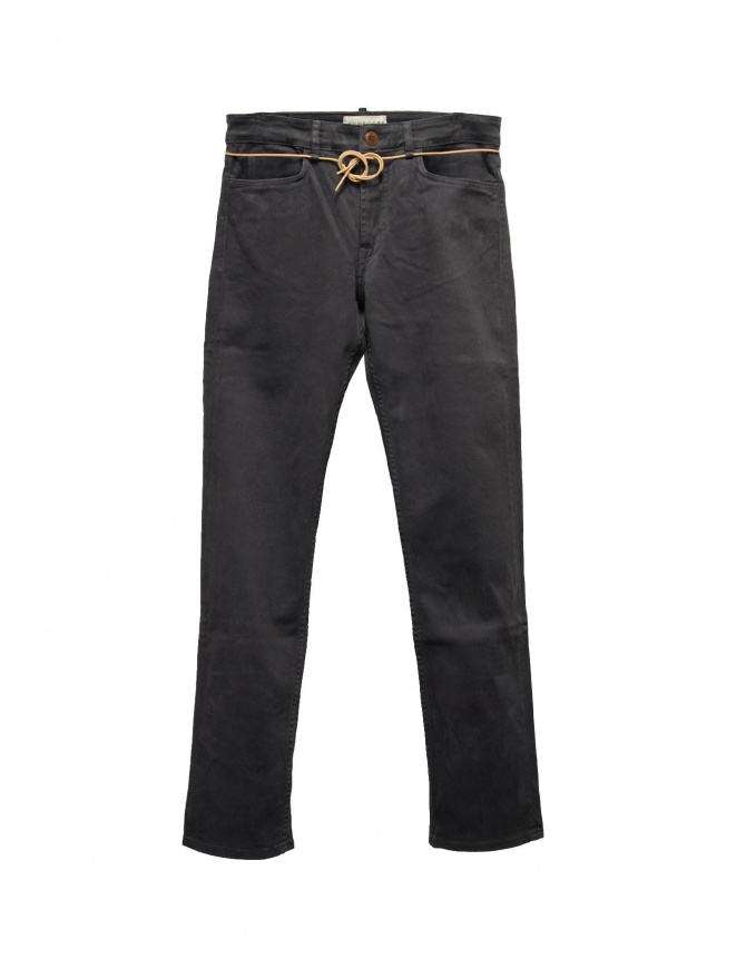 Homecore Alex Twill gray pants ALEX TWILL W14 GALLET mens trousers online shopping
