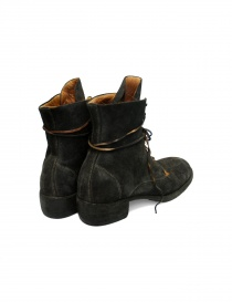 Dark brown leather ankle boots 795Z Guidi price