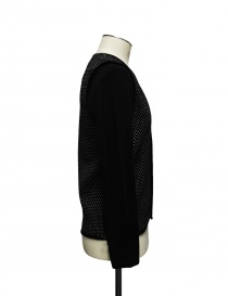 Cy Choi black and white polka dot cardigan